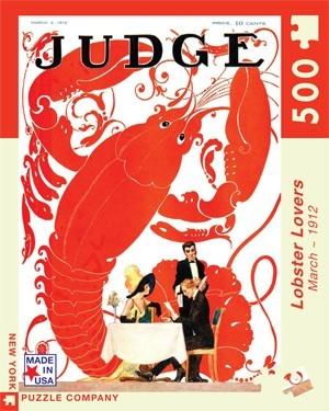 【KANGA GAMES】拼圖 龍蝦迷 Judge Magazine - Lobster Lovers 500片