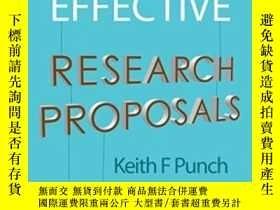 二手書博民逛書店Developing罕見Effective Research ProposalsY256260 Dr Keit