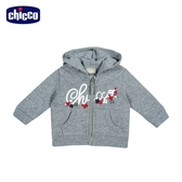 chicco-To Be BG-CHICCO花朵休閒連帽外套