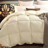 羽絨被 寢具-粉嫩保暖蓬鬆白鴨絨雙人棉被5色72aa25[時尚巴黎]