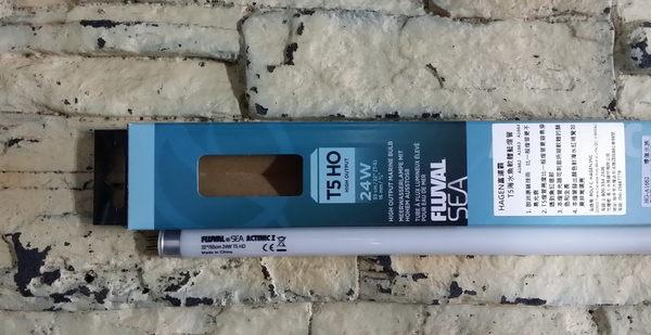 【西高地水族坊】赫根HAGEN FLUVAL富濾霸 T5海水魚軟體藍燈管24W(55cm)