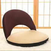 L型沙發懶人無腿椅休閒小凳子兒童可拆洗折疊榻榻米坐椅子床上靠背椅jj
