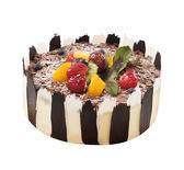 【上城蛋糕】生日蛋糕 限自取 黑櫻桃白蘭地 10吋 法國酒漬黑櫻桃 巧克力蛋糕 不甜膩 大人風味
