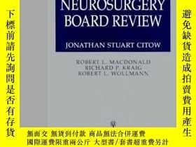 二手書博民逛書店Comprehensive罕見Neurosurgery Board Review-綜合神經外科委員會檢討Y36