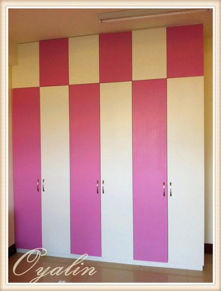 【歐雅 系統家具 】 女孩房 衣櫥櫃