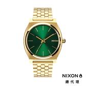 NIXON TIME TELLER 金綠 / 極簡小錶款 A045-1919 NIXON官方直營