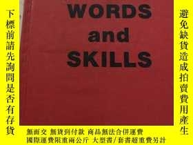 二手書博民逛書店spelling罕見words and skills 拼寫單詞和