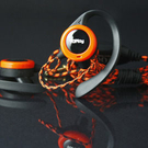 【TOPlay聽不累】超舒適耳掛運動耳機(橘鬣蜥)