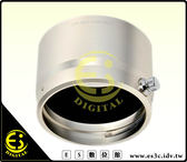 ES數位 Olympus M.ZUIKO DIGITAL ED 75mm F1.8 LH-61F 可反扣 遮光罩 金屬 太陽罩 LH61F E-PL5 E-M5 EP5 EPM2