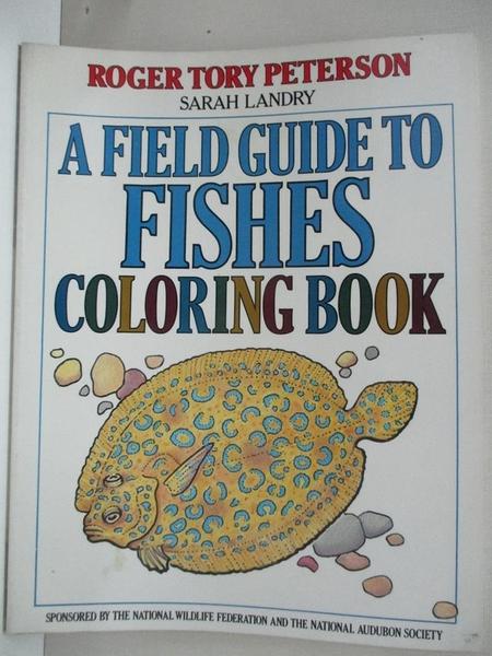 【書寶二手書T1/動植物_DFX】Field Guide to Fishes : Colouring Book