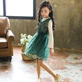 童裝兒童裙子女童洋氣連身裙
