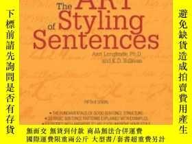 二手書博民逛書店The罕見Art Of Styling SentencesY255562 Ann Longknife Barr
