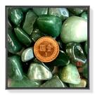 【Ruby工作坊】NO.1NG超大顆綠東菱天然100G碎石(加持祈福)【紅磨坊】