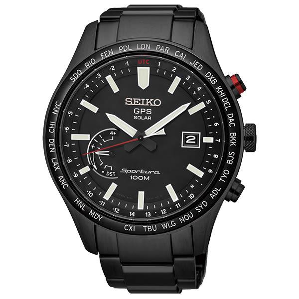 SEIKO 精工 太陽能 SSF005J1(8X22-0AC0SD) ASTRON GPS 男錶