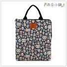 筆電包 包包 防水包 雨朵小舖M287-362 13吋筆電包(直式)-深藍眼罩貓頭鷹13215 funbaobao