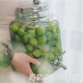 泡酒玻璃瓶家用泡青梅果酒專用酒瓶加厚自釀酒壇子非密封大酒罐 居家物语