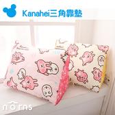 【Kanahei三角靠墊】Norns 正版卡娜赫拉 P助兔兔 沙發床頭靠墊 抬腳枕 腰靠枕 人體工學 抱枕玩偶