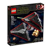 75272【LEGO 樂高積木】星際大戰 Star Wars- 西斯鈦戰機