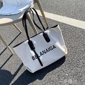 包包女包2020夏天新款潮網紅大容量帆布單肩包ins時尚百搭手提包 雙十二全館免運