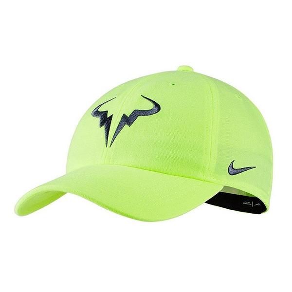 NIKE 19FW 運動帽 納達爾 納達爾帽 AROBILL H86 系列 850666-716 螢光綠 【樂買網】