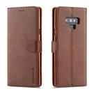 三星S8 S9 Plus / Note 8 Note 9 卡槽錢包套 復古翻蓋殼 皮革啞光保護套