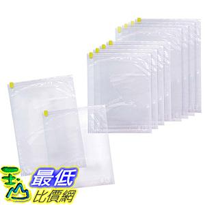 [東京直購] Home Quality 衣物壓縮袋 10入 M:32×39cm 5入/ L:34×50cm 5入 日本製 B00J89GKBC