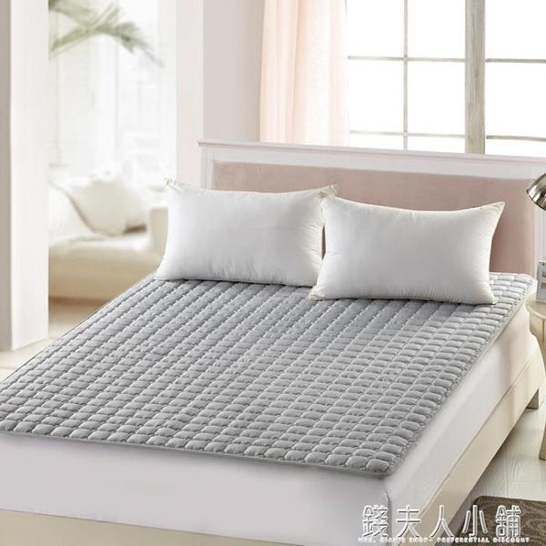 床墊保護墊防滑床護墊榻榻米酒店保潔墊1.5/1.8m薄墊被摺疊床褥子ATF 夏季特惠
