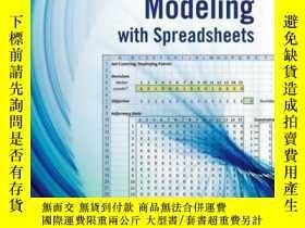 二手書博民逛書店Optimization罕見Modeling with Spreadsheets, 3rd EditionY4