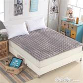 可水洗薄床墊床護墊床褥1.5m床1.8米床榻榻米防滑席夢思保潔墊igo  西城故事