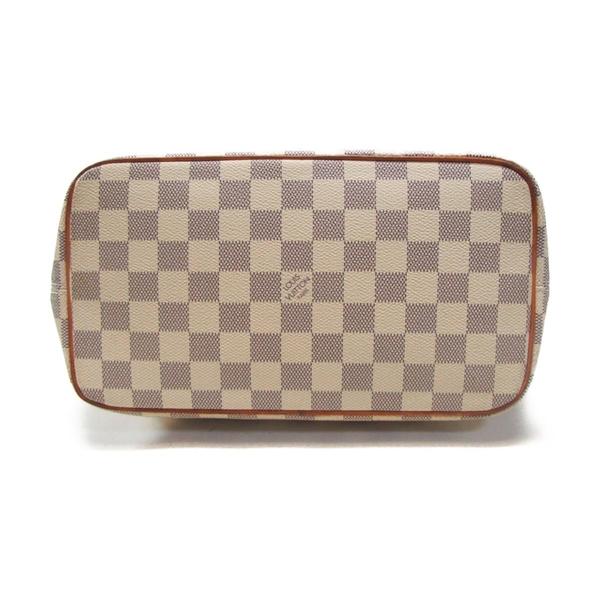 LOUIS VUITTON LV 路易威登 白棋盤格拉鍊手提包 Saleya PM N51186 【BRAND OFF】