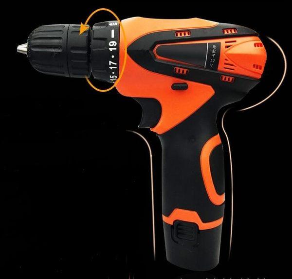 食尚玩家 12V鋰電鑽 掌上型手電鑽 電動螺絲刀 JT-1-12 單速一電簡易套