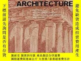 二手書博民逛書店Rediscovering罕見ArchitectureY256260 De Jong, Sigrid Yale