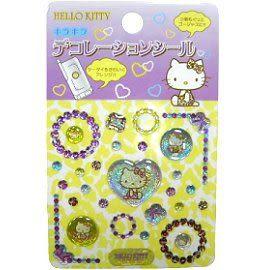 【波克貓哈日網】Hello kitty 凱蒂貓◇立體手機貼◇《 2張 / 組 》B~~免運費