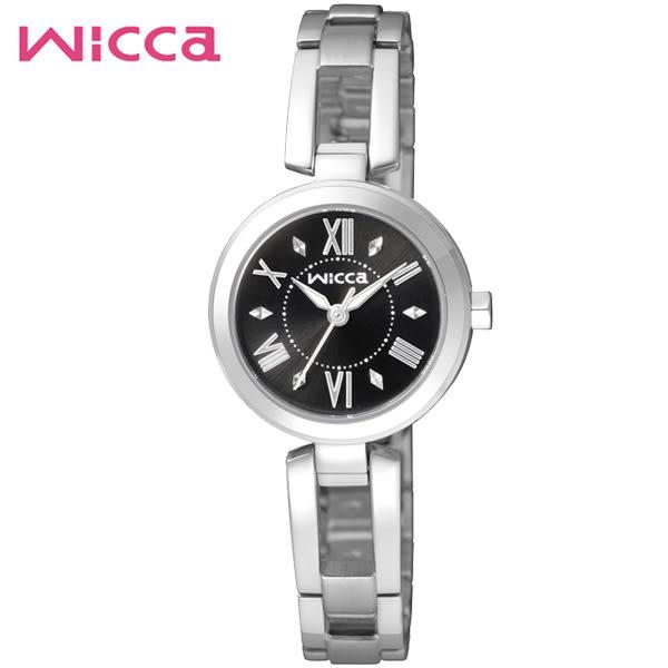 【僾瑪精品】CITIZEN WICCA 浪漫公主 時尚手環錶-黑/24mm-BG3-911-51/送禮