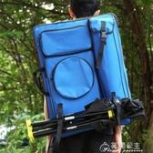 畫板包-畫包素描畫板袋雙肩背4k多功能美術畫袋大拉鏈防水加厚帆布畫板包 花間公主 YYS