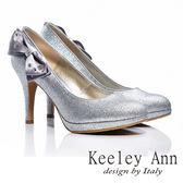 ★零碼出清★Keeley Ann 美豔動人~甜美蝴蝶結閃耀高跟鞋(銀色)