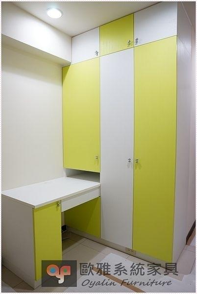 【系統家具】系統家具 全面客製化訂做 / 色彩應用系統衣櫃 特價:30946