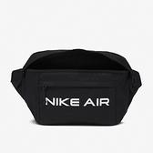 NIKE 腰包 AIR TECH WAIST BAG 黑 大容量 斜背包 隨身包 (布魯克林) DC7354-010