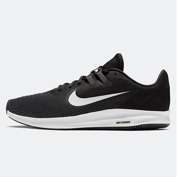 NIKE DownShifter 9 男鞋 休閒 網布 透氣 柔軟 黑 【運動世界】 AQ7481-002