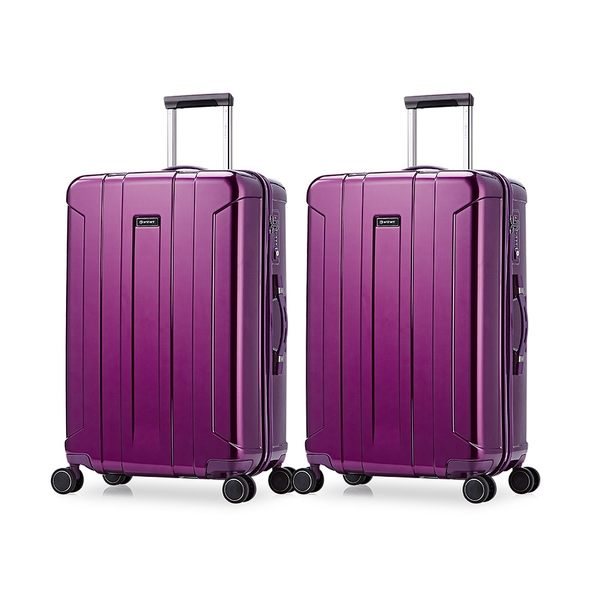 eminent【買一送一】絢麗時尚鏡面PC行李箱 28吋 KG95