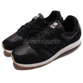 New Balance 復古慢跑鞋 NB 373 黑 白 麂皮 膠底 基本款 運動鞋 女鞋【PUMP306】 WL373BLB