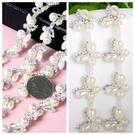DIY飾品配件髪飾材料,珍珠造型鏈,每份...