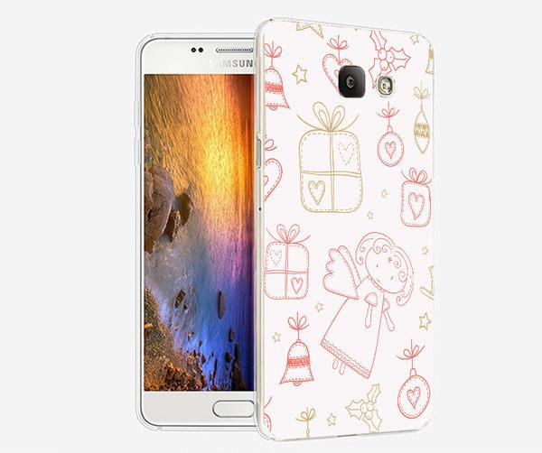♥ 俏魔女美人館 ♥ {可愛天使*水晶硬殼} SAMSUNG GALAXY A7 2016版手機殼 手機套 保護套