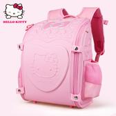 日本正版hellokitty小學生書包女生兒童貴族高檔減壓護脊雙肩背包