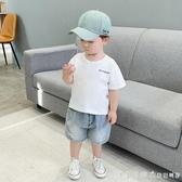 男童破洞牛仔短褲子夏裝夏季新款寶寶嬰兒童裝小童1歲洋氣潮X1747 漾美眉韓衣