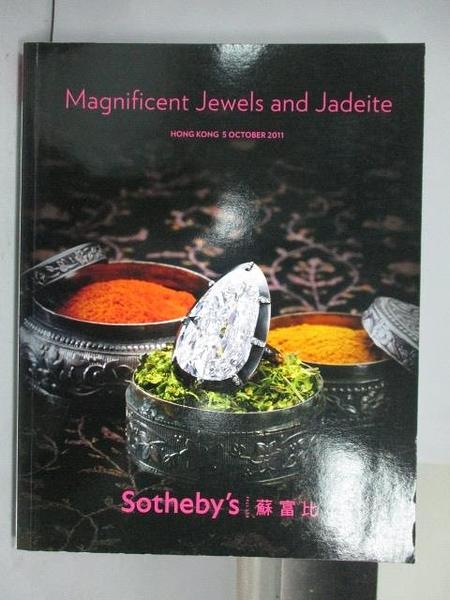 【書寶二手書T4/收藏_QAS】Sotheby s_Magnificent Jewels and…2011/10/5