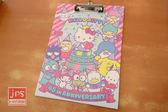 Hello Kitty 凱蒂貓 45週年 板夾 家族 KRT-212821