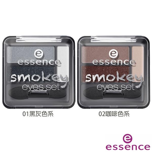 essence 艾森絲 星光大道煙燻眼彩盤(2.24g) 兩款可選【小三美日】