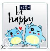 體重秤家用USB充電電子稱精準電子秤人體學生成人減肥稱重女可愛