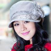 春夏遮陽韓版時尚時裝帽貝雷帽